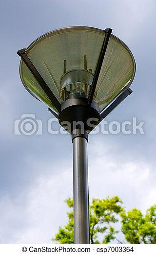 Lamp in the park - csp7003364