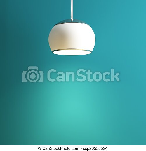 lamp of interior creative conception - csp20558524