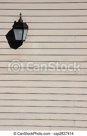 Lamp on Vinyl wall - csp2837414