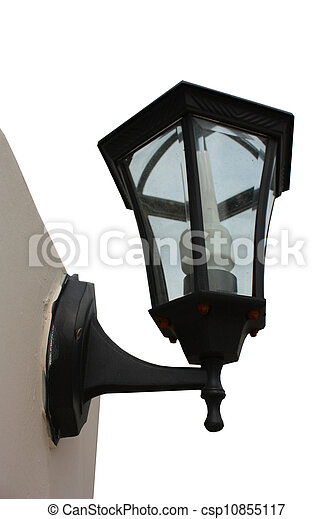 Lamp on wall - csp10855117
