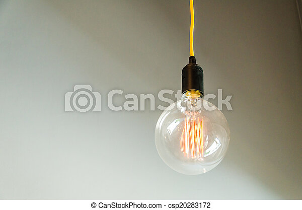 Lamp on wall - csp20283172