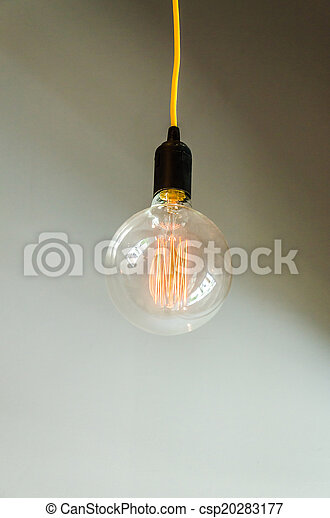 Lamp on wall - csp20283177