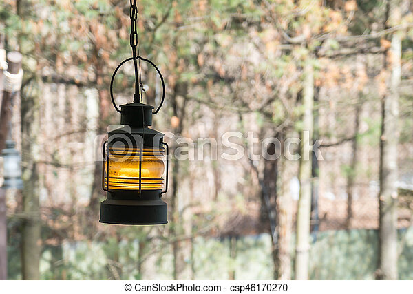 lamp on wall - csp46170270