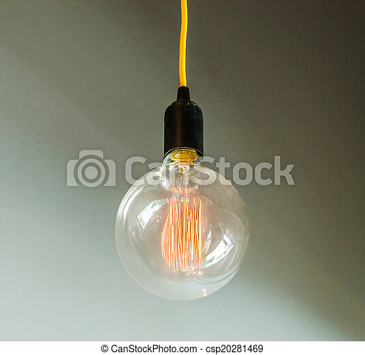 Lamp on wall - csp20281469