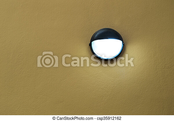 Lamp on wall - csp35912162