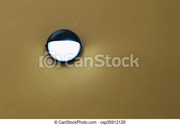 Lamp on wall - csp35912129