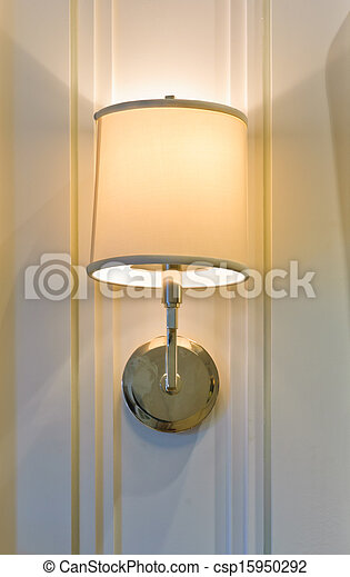 Lamp on wall - csp15950292