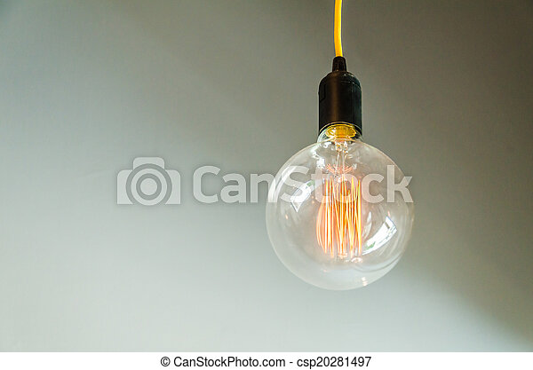 Lamp on wall - csp20281497