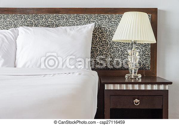 Lamp, slaapkamer.