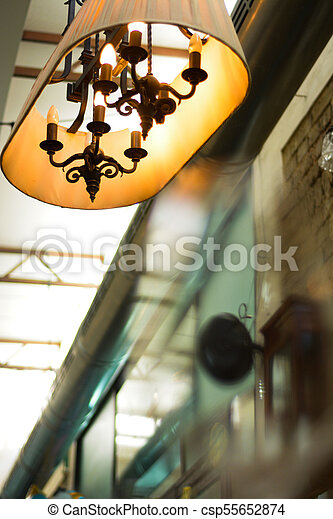 lamp vintage design - csp55652874
