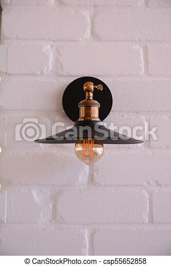 lamp vintage design - csp55652858