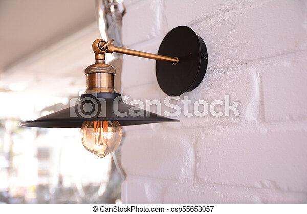 lamp vintage design - csp55653057