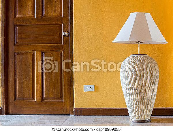 lamp wall interior style - csp40909055