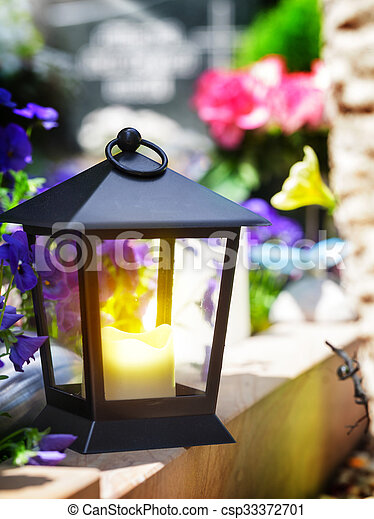 Lampa Grób Lekki Latarnia