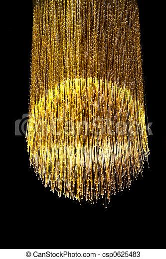 lampa, optisk fiber - csp0625483