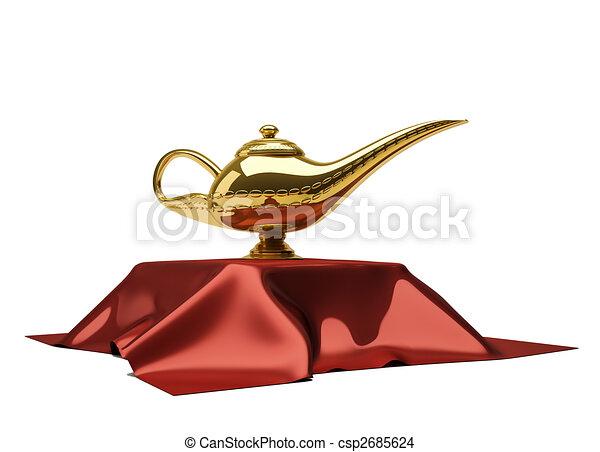 Lampe Aladin Magie