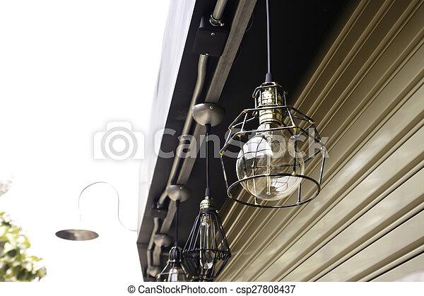 Lampe, draußen, hängen Stockfotos - Suche Fotografien, Clipart Foto ...