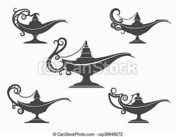 Lampe Ensemble Aladdin Icône