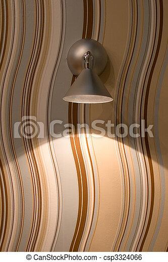 lampe, moderne - csp3324066