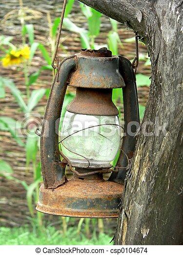 lampe, porté - csp0104674
