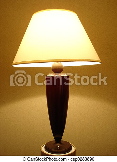 lampe, schreibtisch - csp0283890