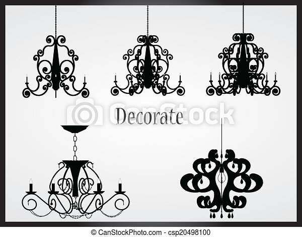 Lamps and chandeliers vector vector clipart search illustration lamps and chandeliers vector aloadofball Image collections