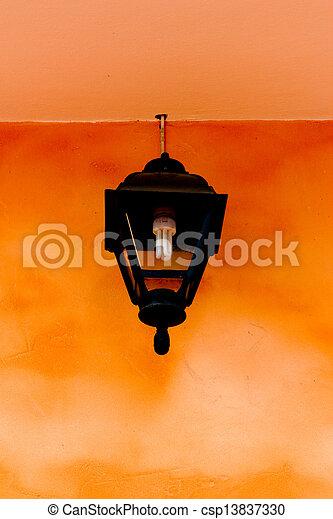 Lamps old vintage - csp13837330