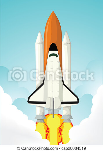 lançadeira, espaço - csp20084519
