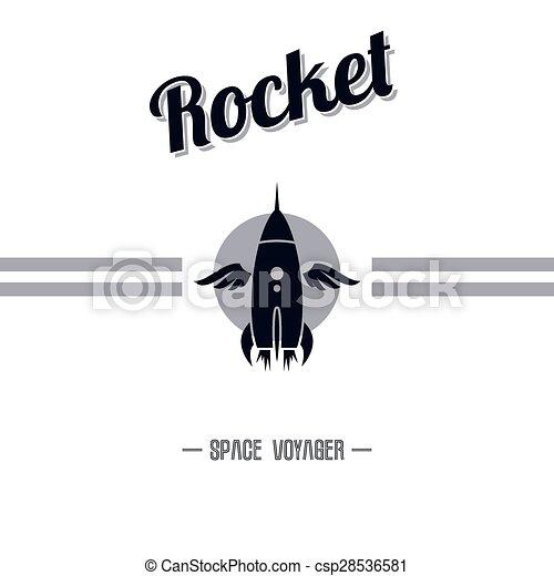 lançadeira, espaço - csp28536581