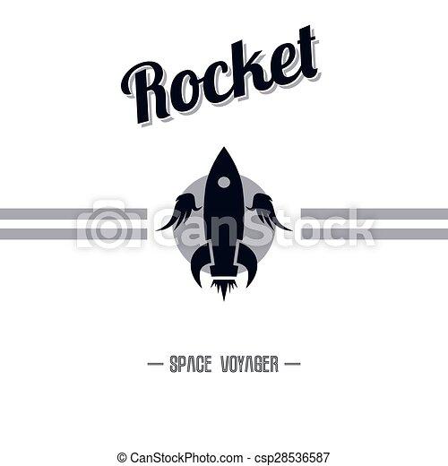 lançadeira, espaço - csp28536587