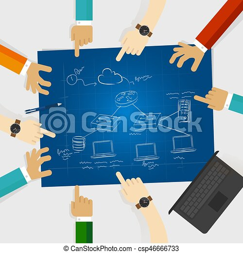 Lan local area network design architecture computer cable lan local area network design architecture computer cable connection client server icon router csp46666733 ccuart Choice Image
