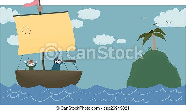 Land ahoy! - csp26943821