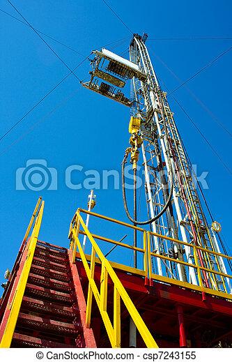 Land drilling rig. - csp7243155