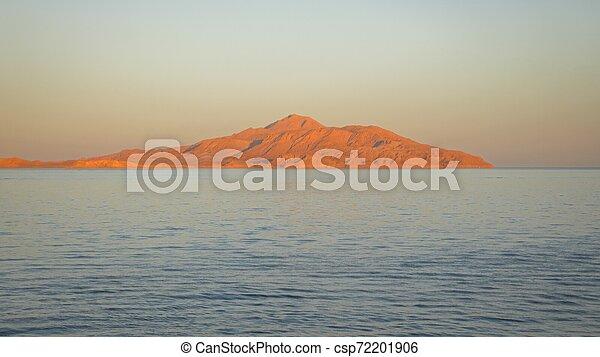 land over the horizon under blue sky - csp72201906