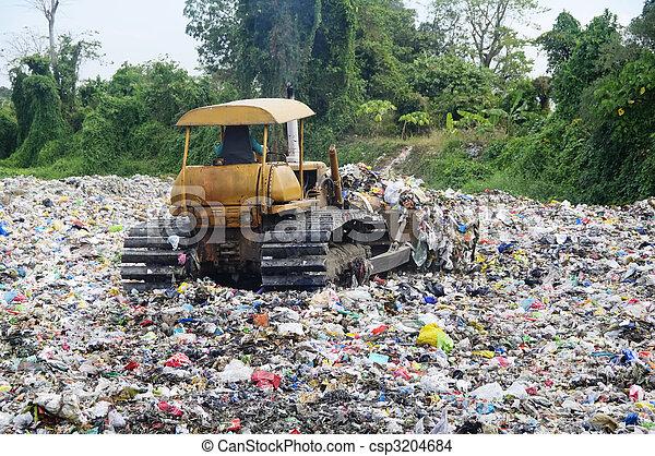 landfill, lixo - csp3204684