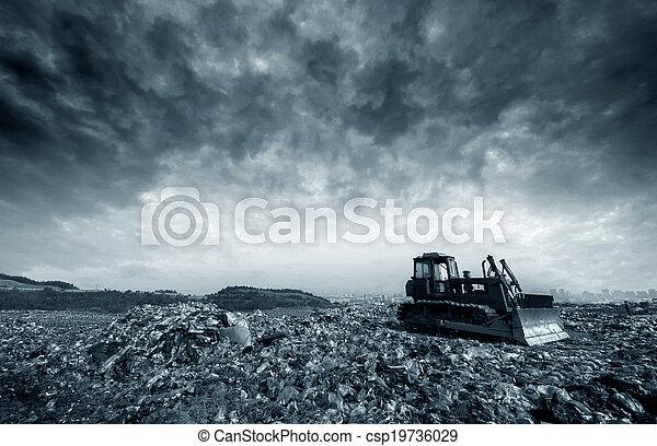 Landfill - csp19736029