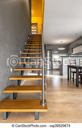 Landhaus Modern Idee Funktional Inneneinrichtung Treppe