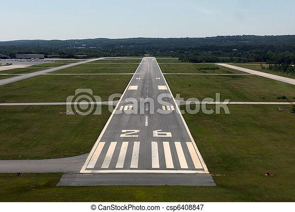 Landing Time - csp6408847
