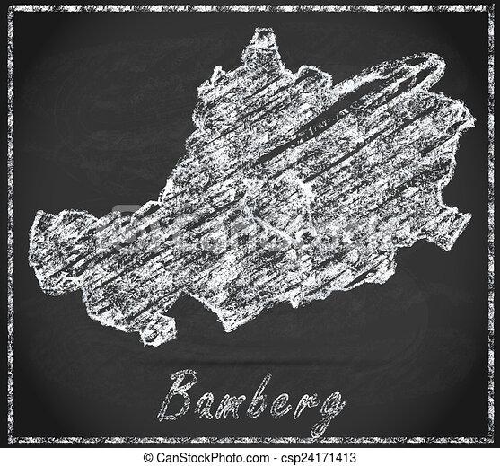 Karte Bamberg Landkarte.Landkarte Bamberg