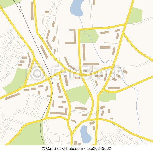 landkarte, schifffahrt - csp26349082
