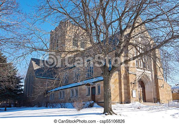 Landmark Neo Gothic Church In St Paul