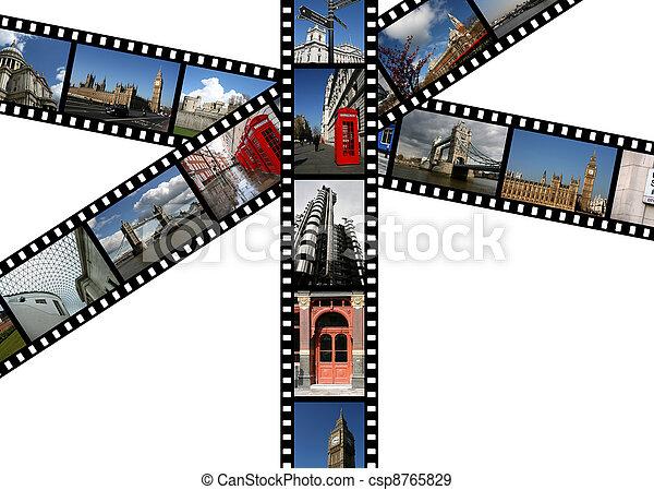 Landmarks in London - csp8765829