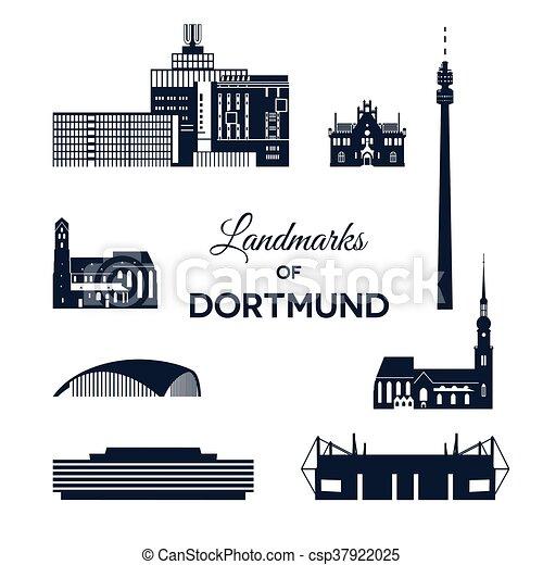 Landmarks of Dortmund - csp37922025