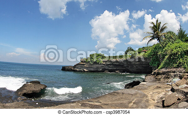 landscape around Tanah Lot - csp3987054