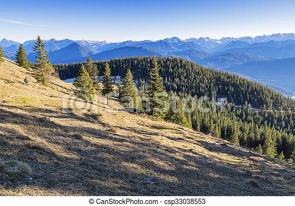 Landscape Bavaria Alps - csp33038553