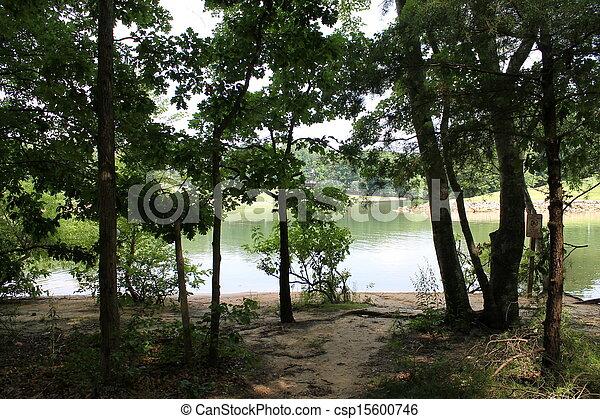 landscape of lake - csp15600746