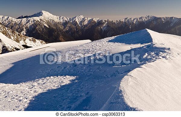 Landscape of mountain - csp3063313