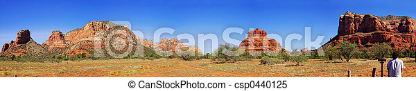 Landscape Panorama - Monument Valley - csp0440125
