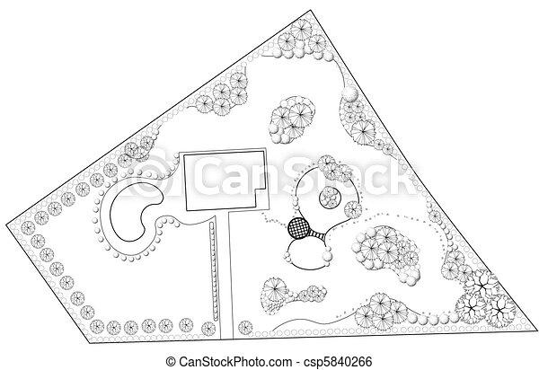 Landscape Plan - csp5840266