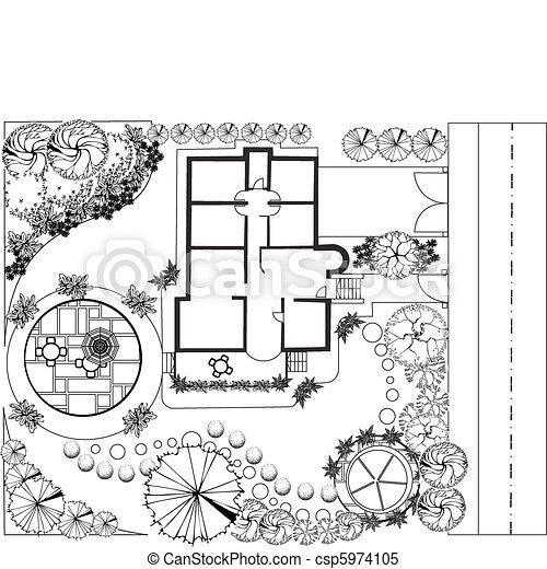 Landscape Plan - csp5974105